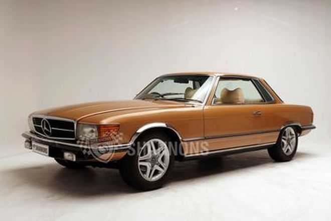 Mercedes-Benz 350 SLC Coupe