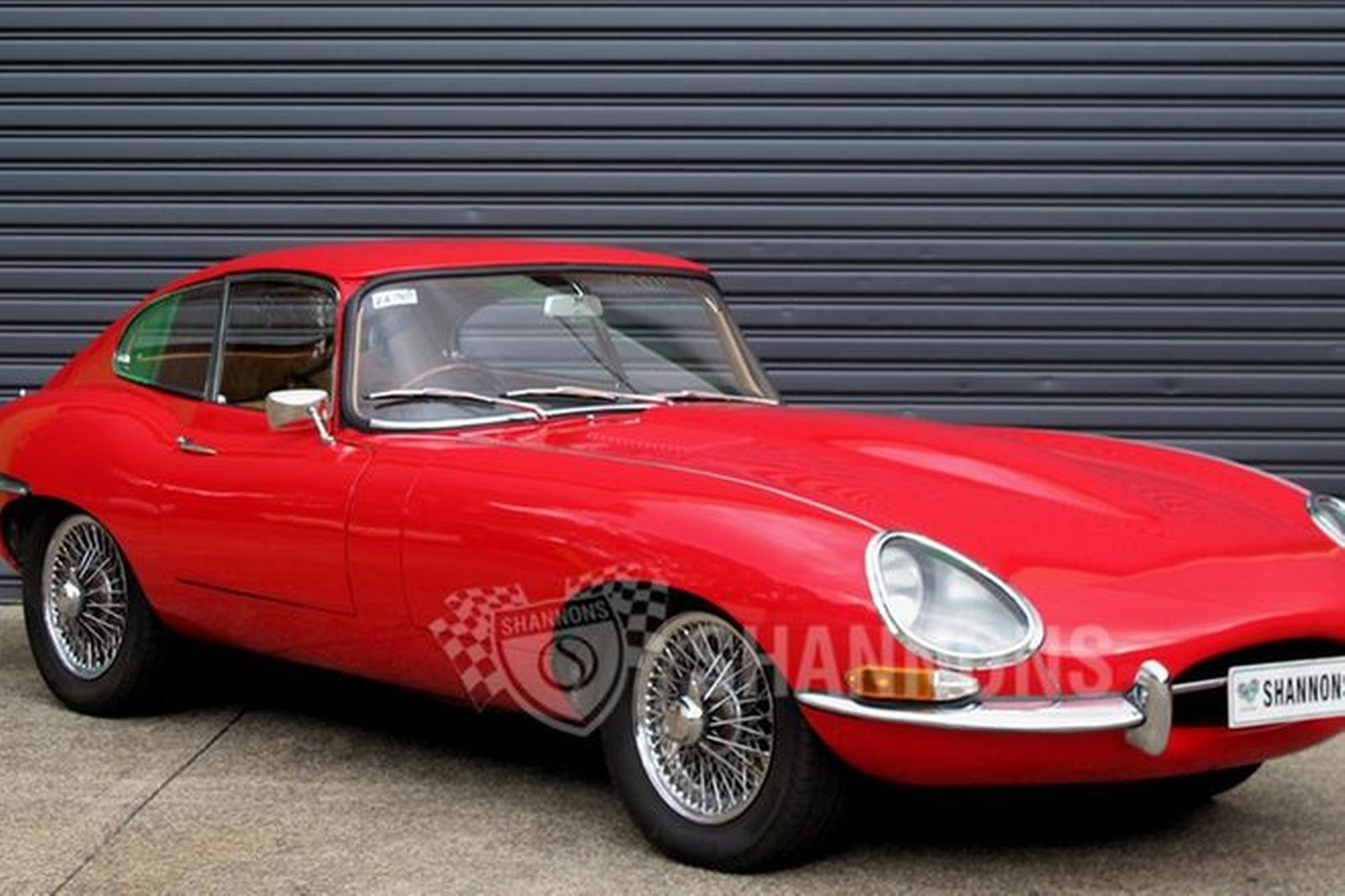 sold jaguar e type 4 2 series 1 coupe auctions lot 24 shannons. Black Bedroom Furniture Sets. Home Design Ideas