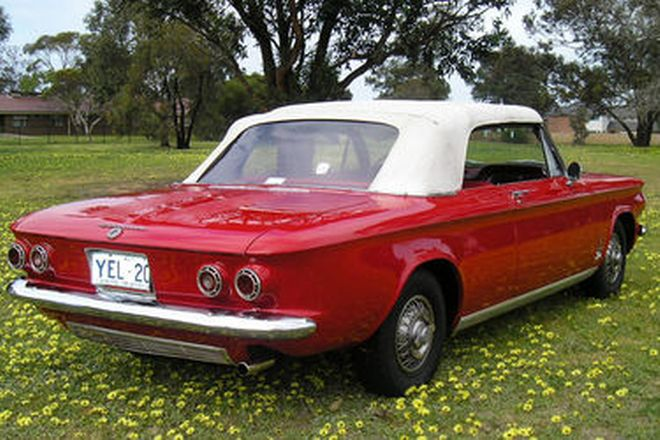 Chevrolet Corvair Turbo Convertible (LHD)