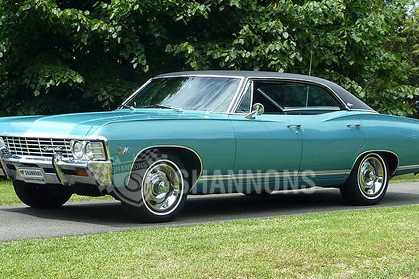 Chevrolet Caprice 396ci Pillarless Sedan Lhd Auctions Lot 25 1966 Chevy For Sale