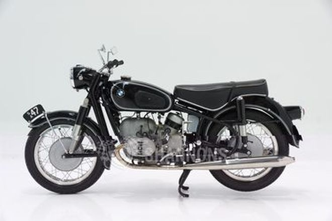 BMW R60 600cc Solo Motorcycle