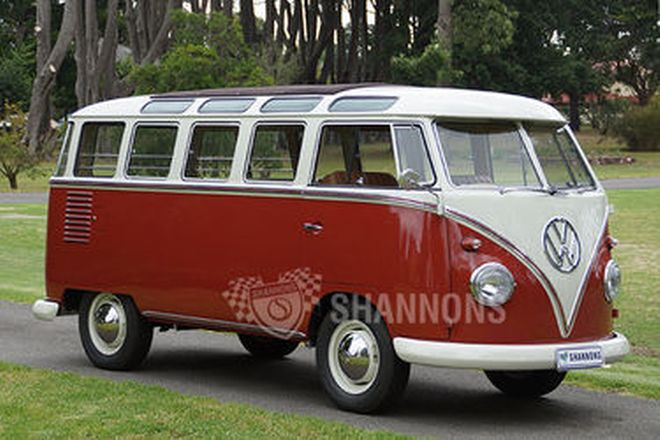 Volkswagen Kombi '23 Window' Samba Bus (RHD)
