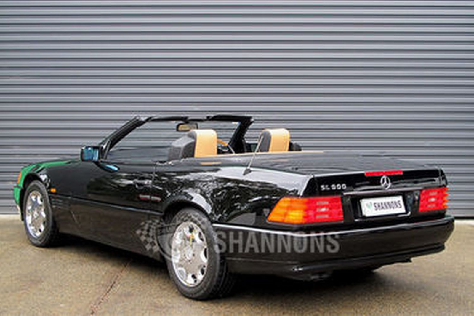 sold mercedes benz 500sl convertible auctions lot 6 shannons. Black Bedroom Furniture Sets. Home Design Ideas
