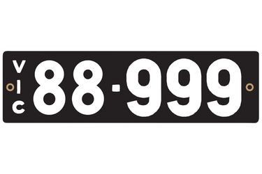 Victorian Heritage Plate '88.999'