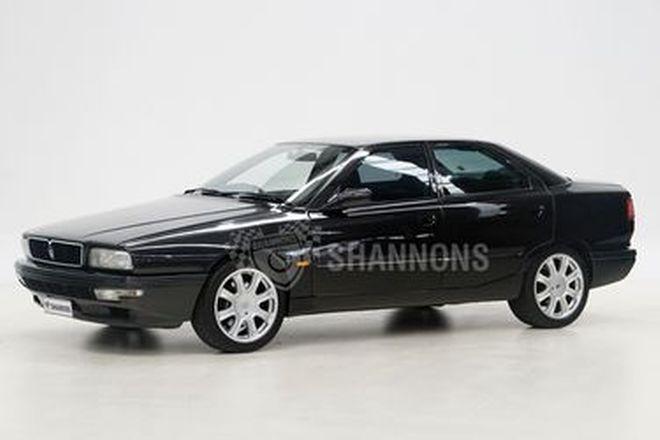 Maserati Quatroporte Bi-Turbo Sedan