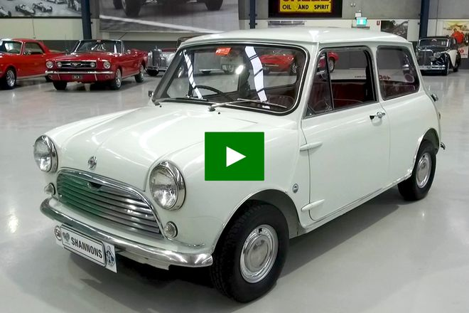 Morris Mini K1100 Series Saloon