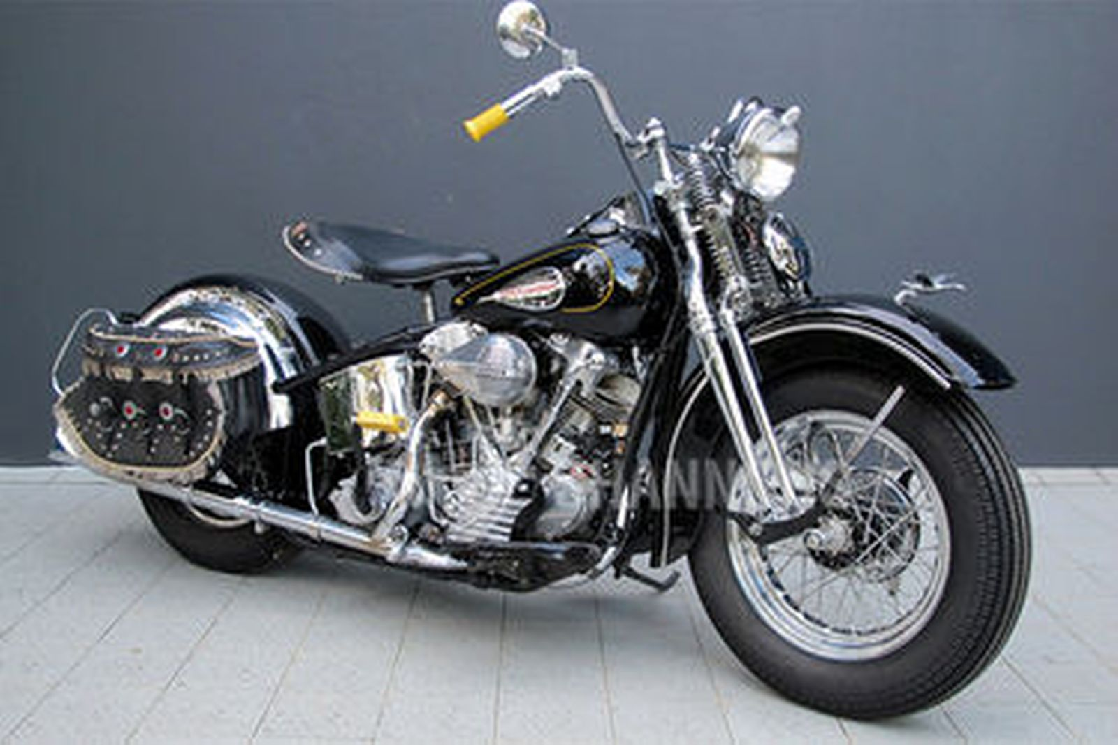 Harley Davidson: Harley-Davidson FL Knucklehead 74ci Motorcycle Auctions