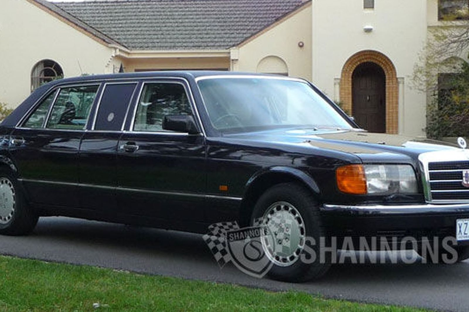 Sold mercedes benz 560sel limousine auctions lot 33 for Mercedes benz limo