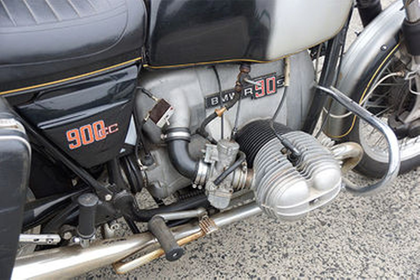 BMW R90S Motorcycle with Tillbrook Sidecar