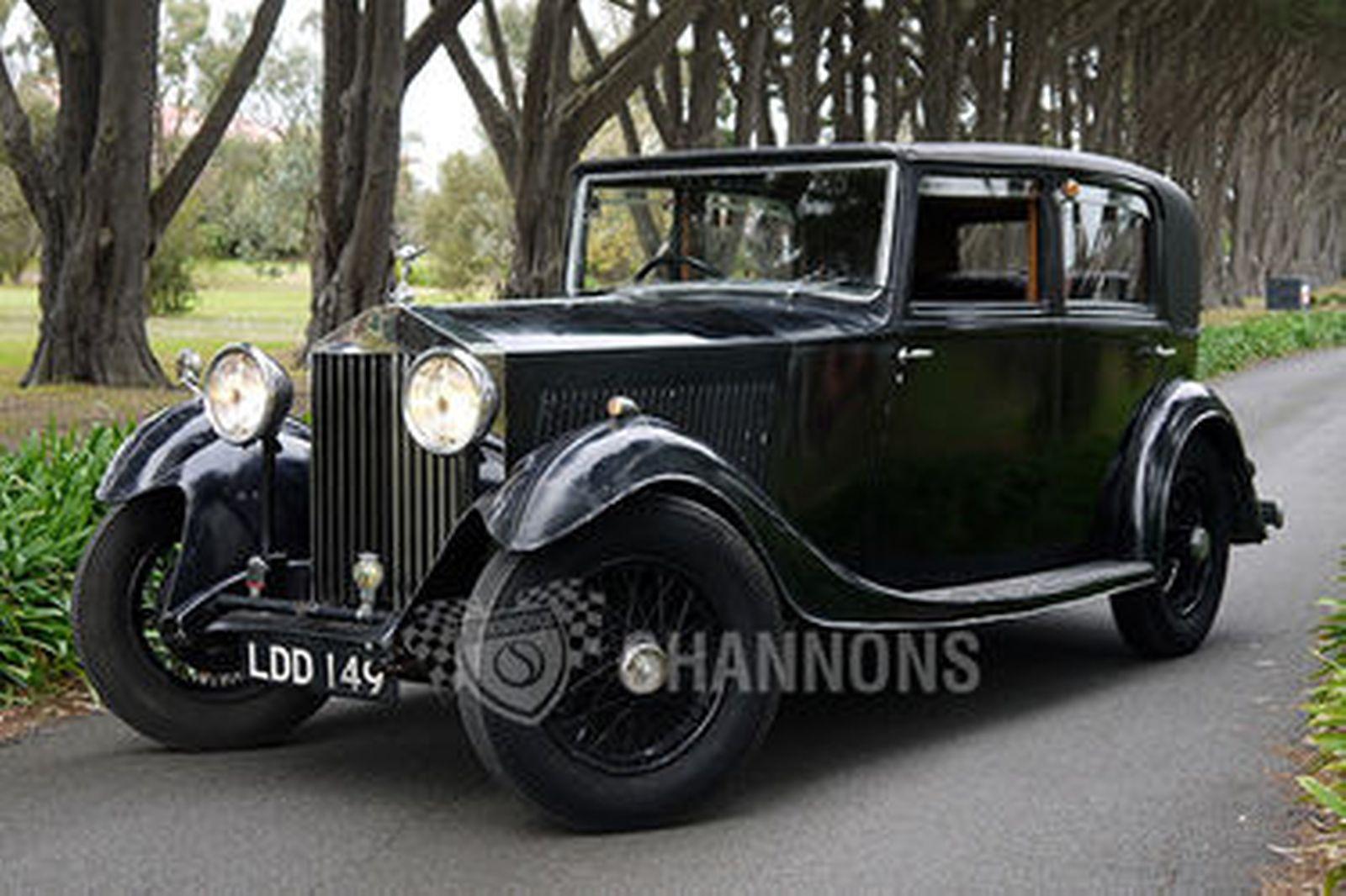 sold  rolls-royce 20  25 hj mulliner sports saloon auctions - lot 27