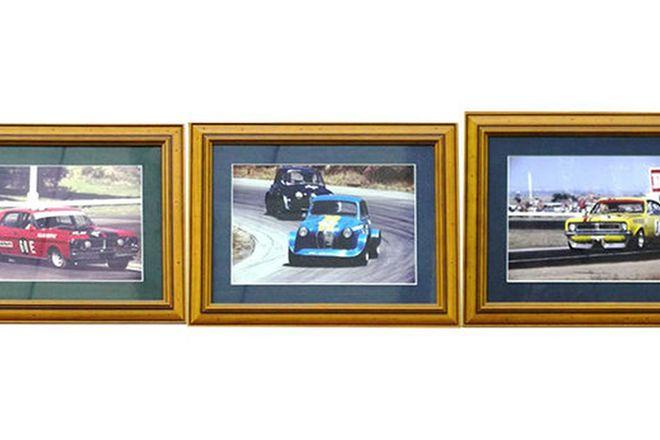 Framed Photographs x 3 - Brock Austin A30, Beechey Monaro, Moffat GT-HO