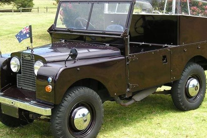 Land Rover Ceremonial Vehicle (RHD)