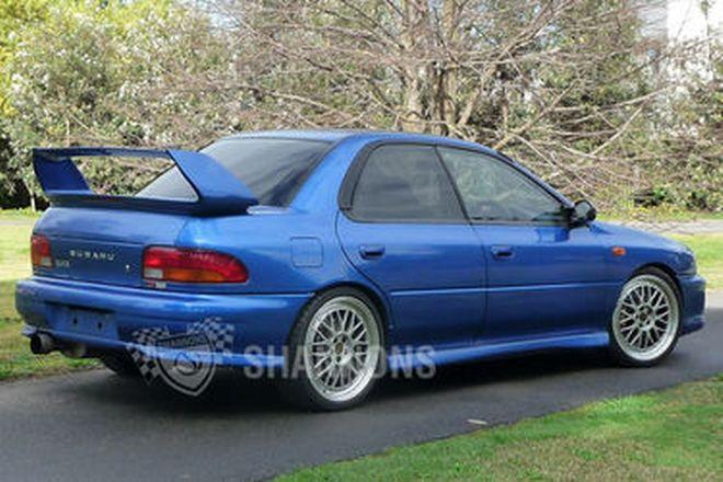 Subaru Impreza WRX 'MRT Improved' Sedan