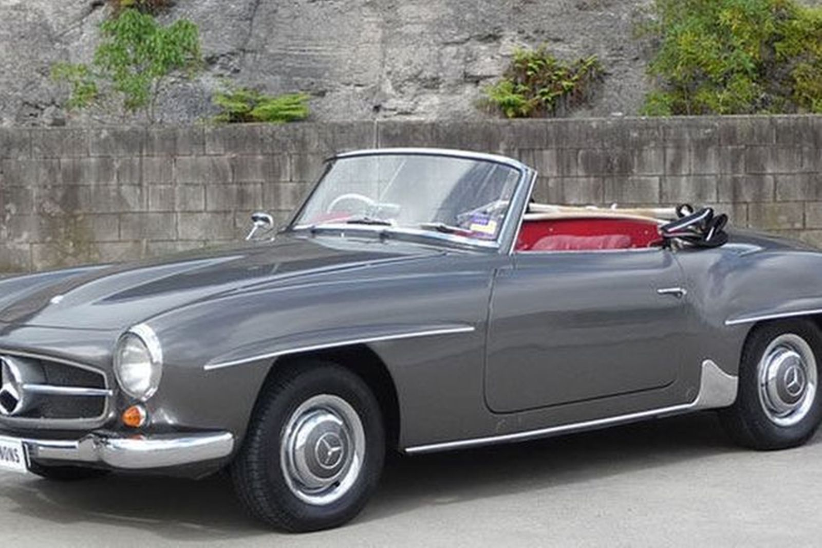Mercedes Benz 190sl Convertible Auctions Lot 23 Shannons