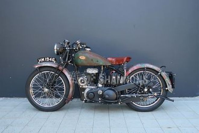 BSA M20 500cc Motorcycle