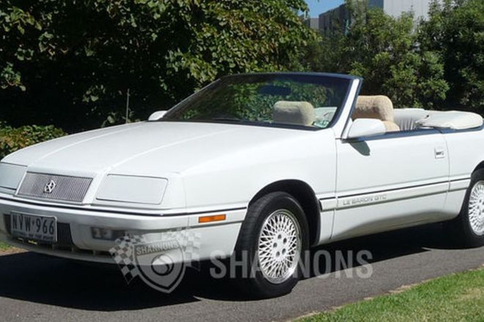 Sold Chrysler Lebaron Convertible Rhd Auctions Lot 36