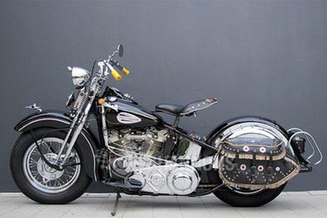 Harley-Davidson FL Knucklehead 74ci Motorcycle