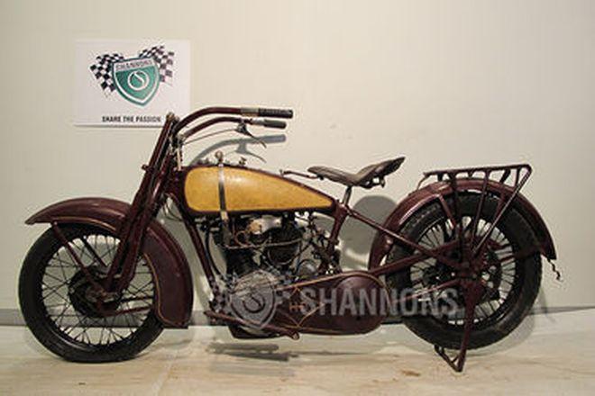 Harley-Davidson F Model 1000cc (i.o.e.) Solo Motorcycle