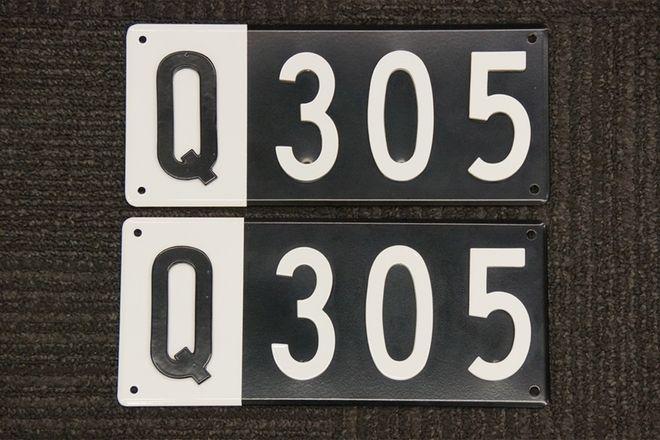 Number Plates - Queensland Heritage Q Plates - 'Q 305'
