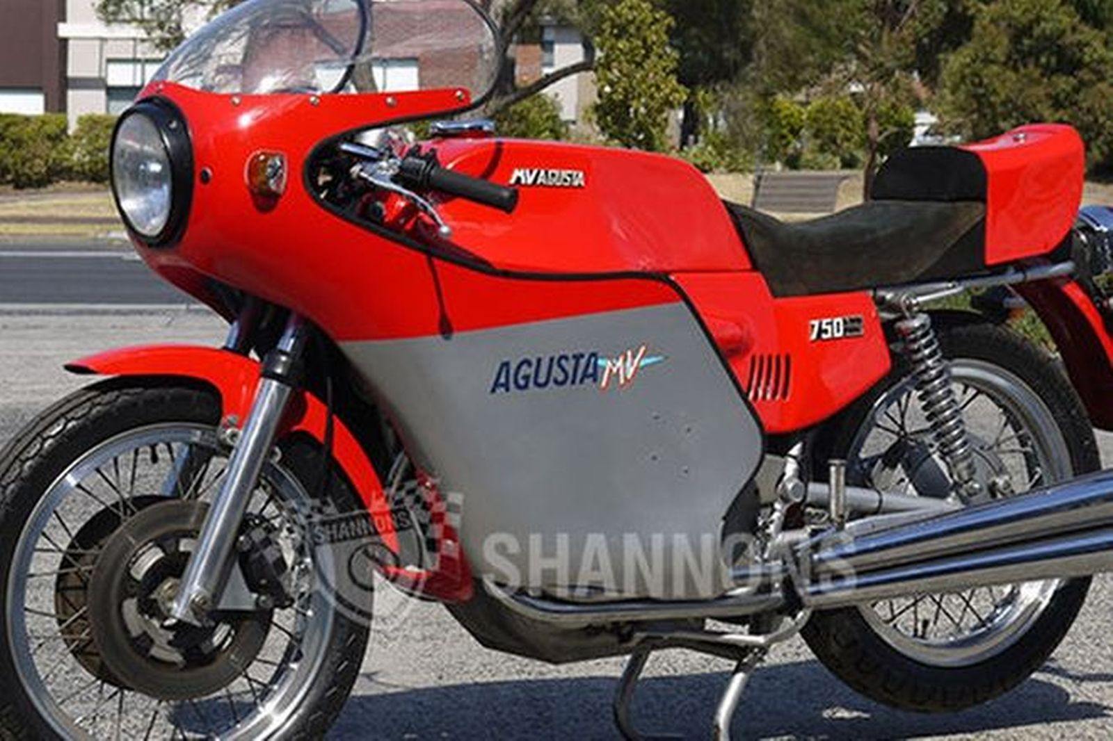 mv agusta 750s america motorcycle auctions lot 25 shannons. Black Bedroom Furniture Sets. Home Design Ideas