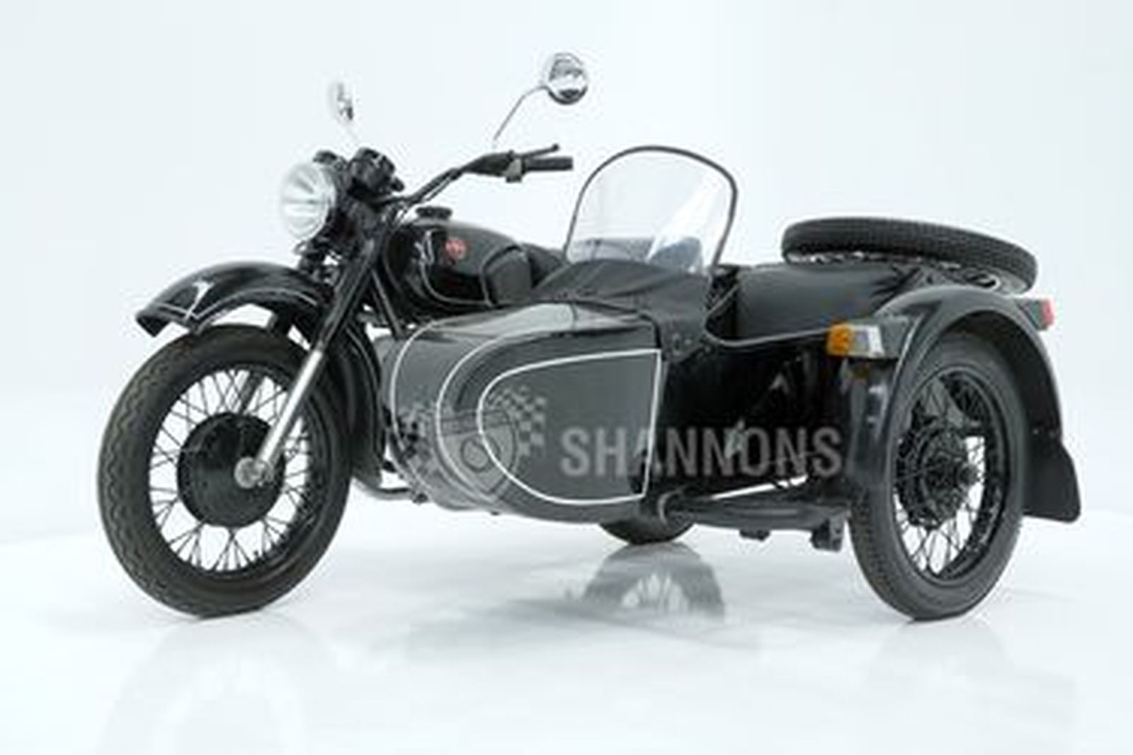 DNEPR (Rocket) MT11S Motorcycle with Sidecar