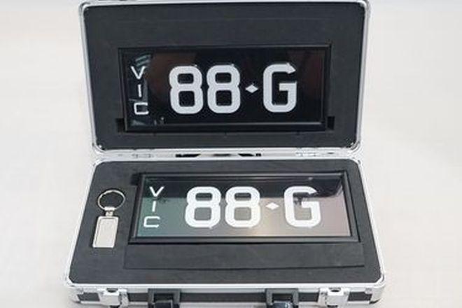 Signature Series Plate '88-G'