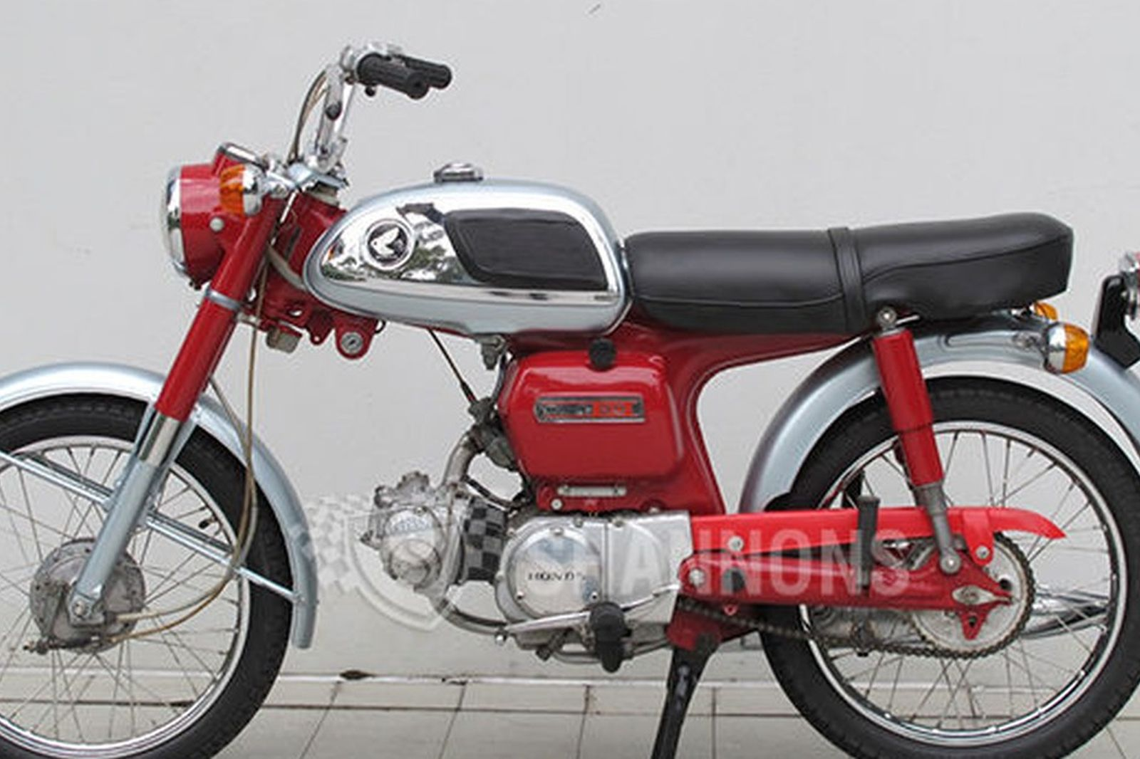 Sold Honda Cd90 Motorcycle Auctions Lot V Shannons