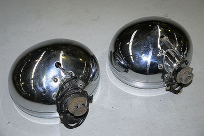 Fog Lamps Pair Notek (British made)