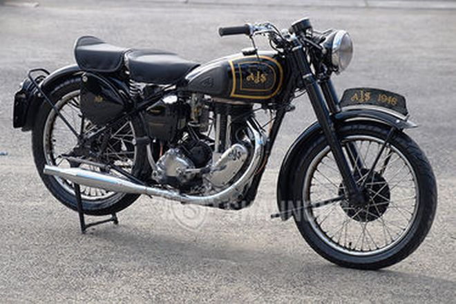 AJS M16 'Saddle Tank' 350cc Motorcycle