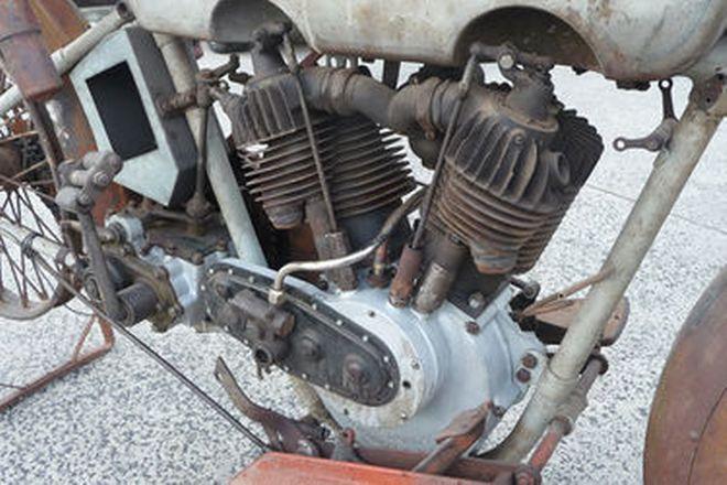 Harley-Davidson JD Model 1200cc Motorcycle (Project)