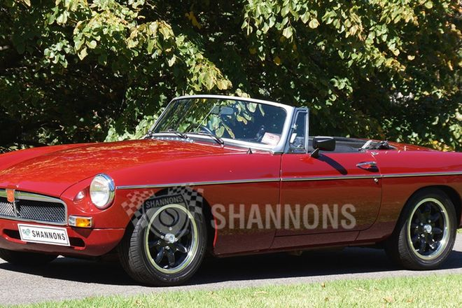 MGB 'V8' Roadster (modified)