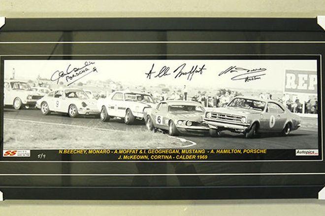 Framed Print - 1969 Calder Park Raceway (40 x 90cm)