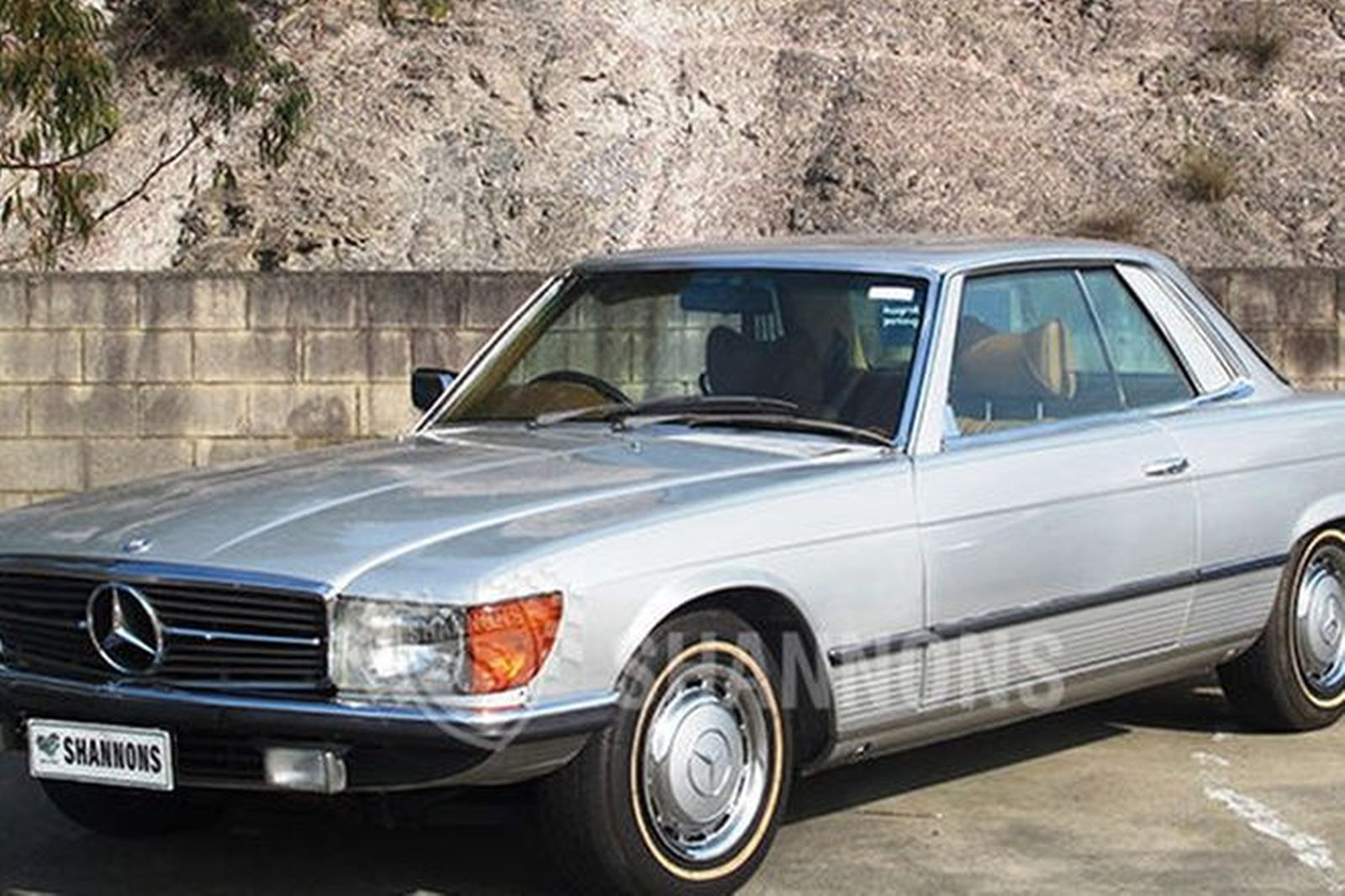 sold mercedes benz 450slc coupe auctions lot 22 shannons. Black Bedroom Furniture Sets. Home Design Ideas