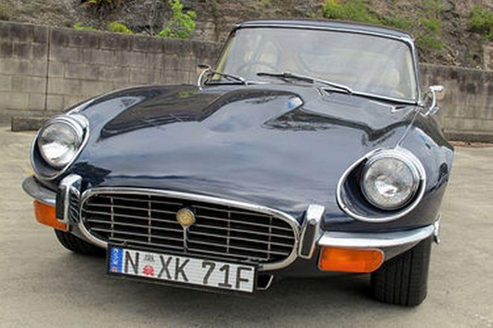 sold jaguar e type v12 39 manual 39 2 2 coupe auctions lot 24 shannons. Black Bedroom Furniture Sets. Home Design Ideas
