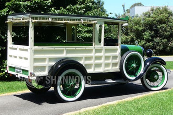 Ford Model A 'Hukster' Van