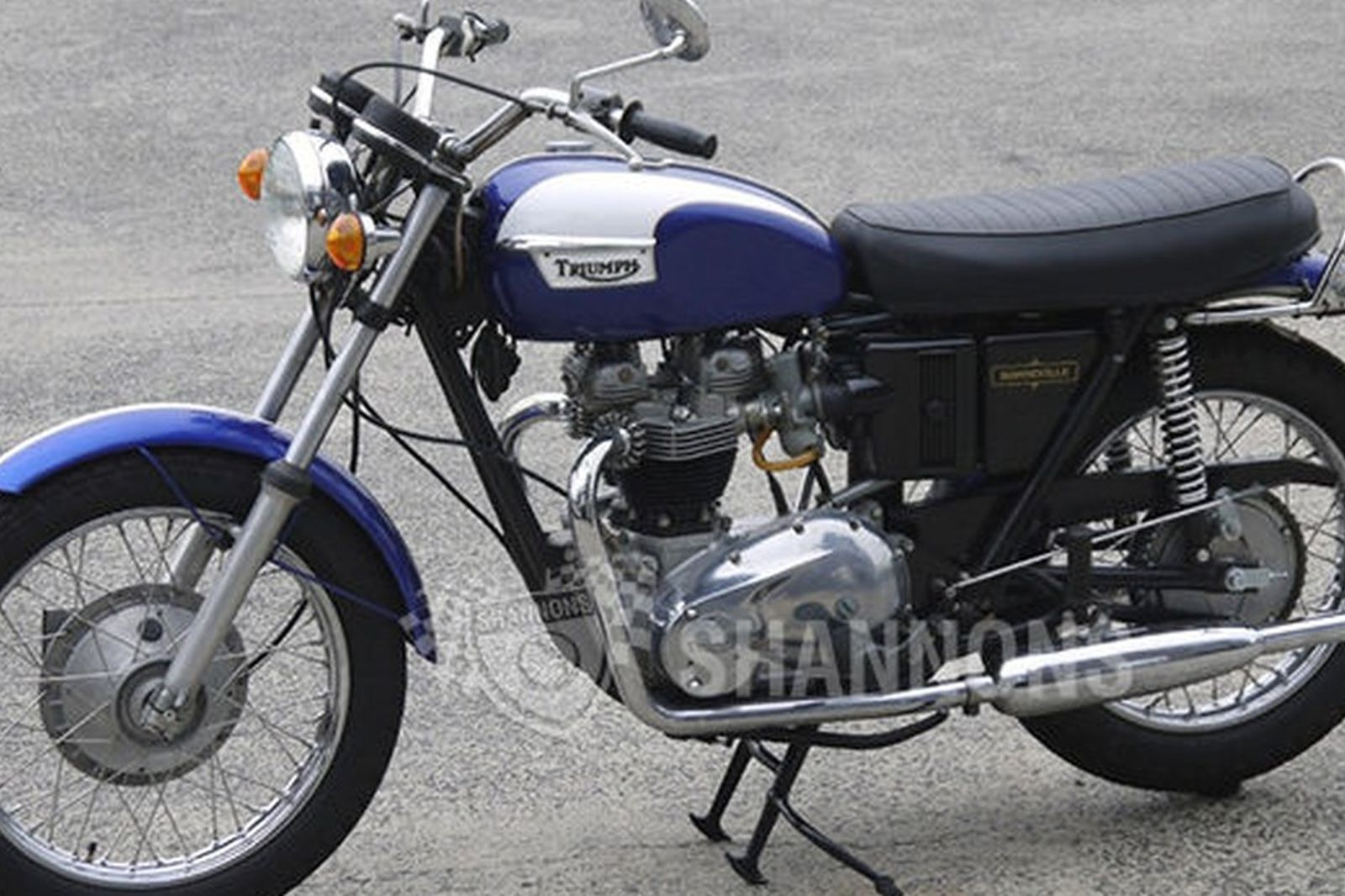 Triumph T120 Bonneville 650cc Motorcycle Auctions