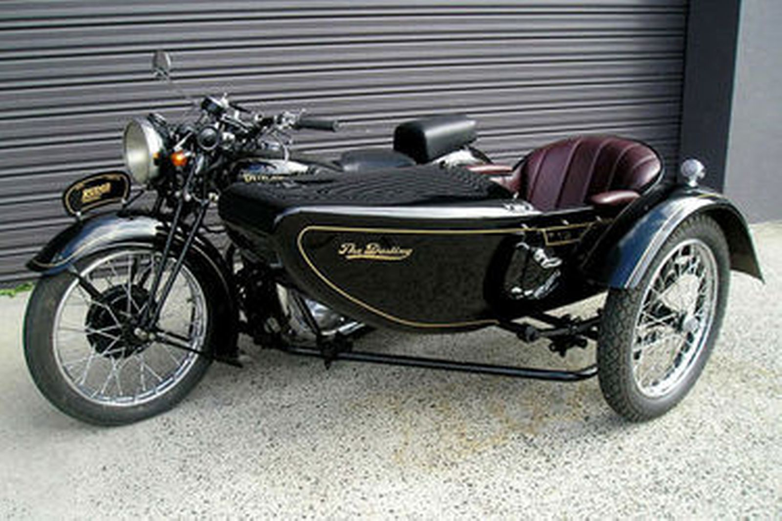 Sold: Rudge 'Special' Motorcycle with Dusting Sidecar Auctions - Lot 11 - Shannons