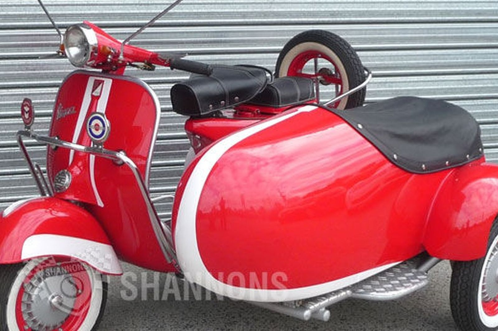Sold Vespa 150cc Scooter With Sidecar Auctions Lot 31 Shannons
