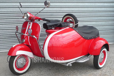 Vespa 150cc Scooter with Sidecar