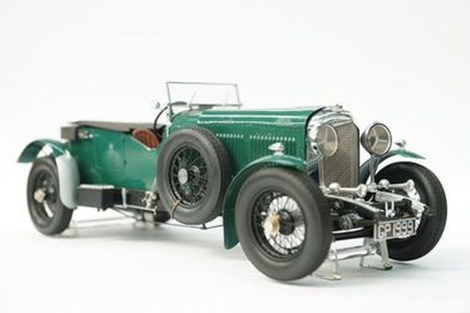 Model Car - Fulgurex Bentley - hand built with stand - From the 'Ian Cummins Collection'