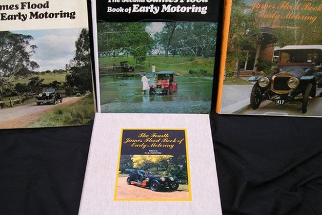 Books - Full set of James Flood Book of Early Motoring (Volumes 1 - 4)