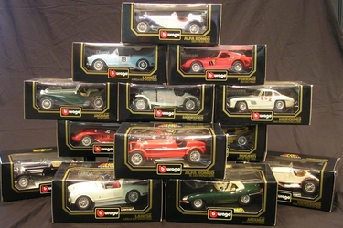 14 x Models - Burago Die-cast (1:18 Scale)