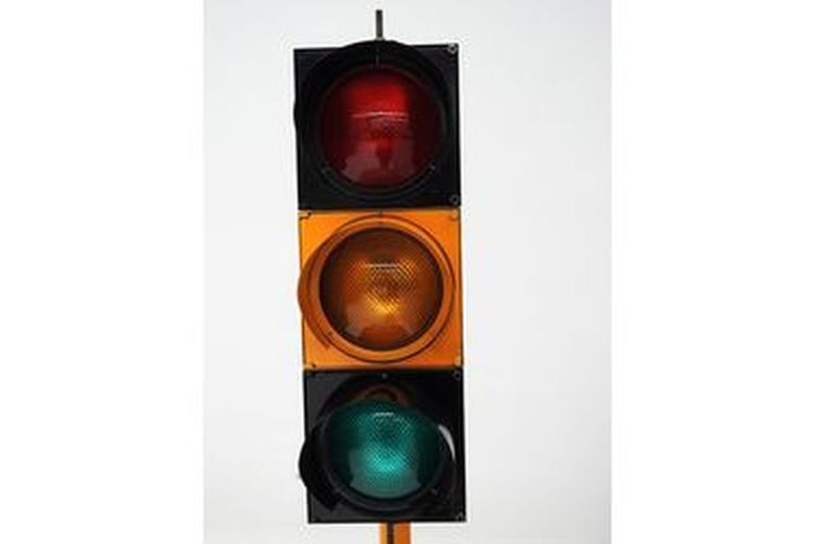 Light up Traffic Lights on stand