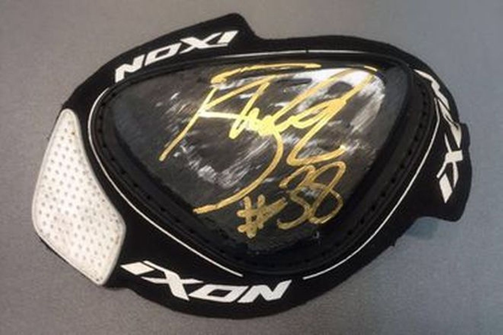 Bradley Smith #38 Signed Knee Slider