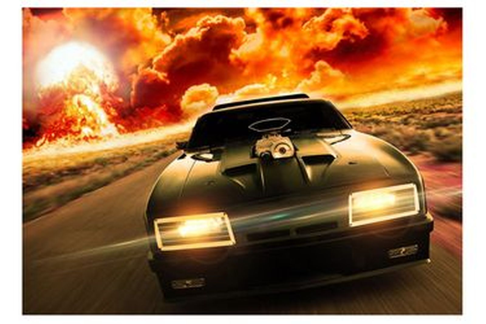 Vinyl Hanging Posters - Mad Max Nuked