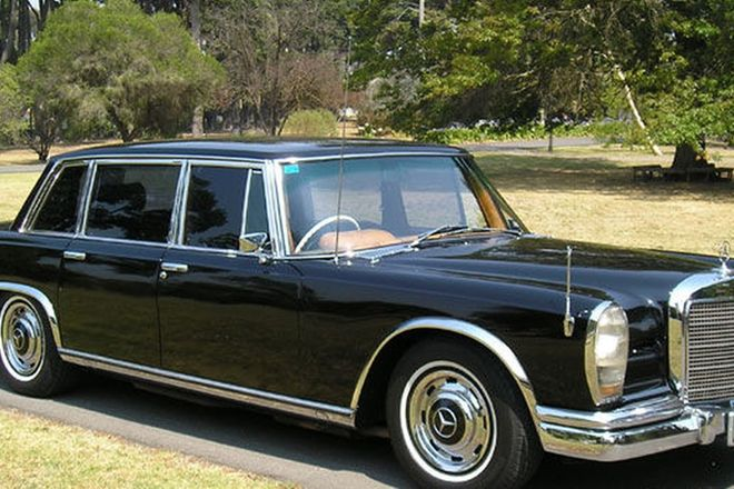 sold mercedes benz 600 grosser saloon auctions lot 7 shannons