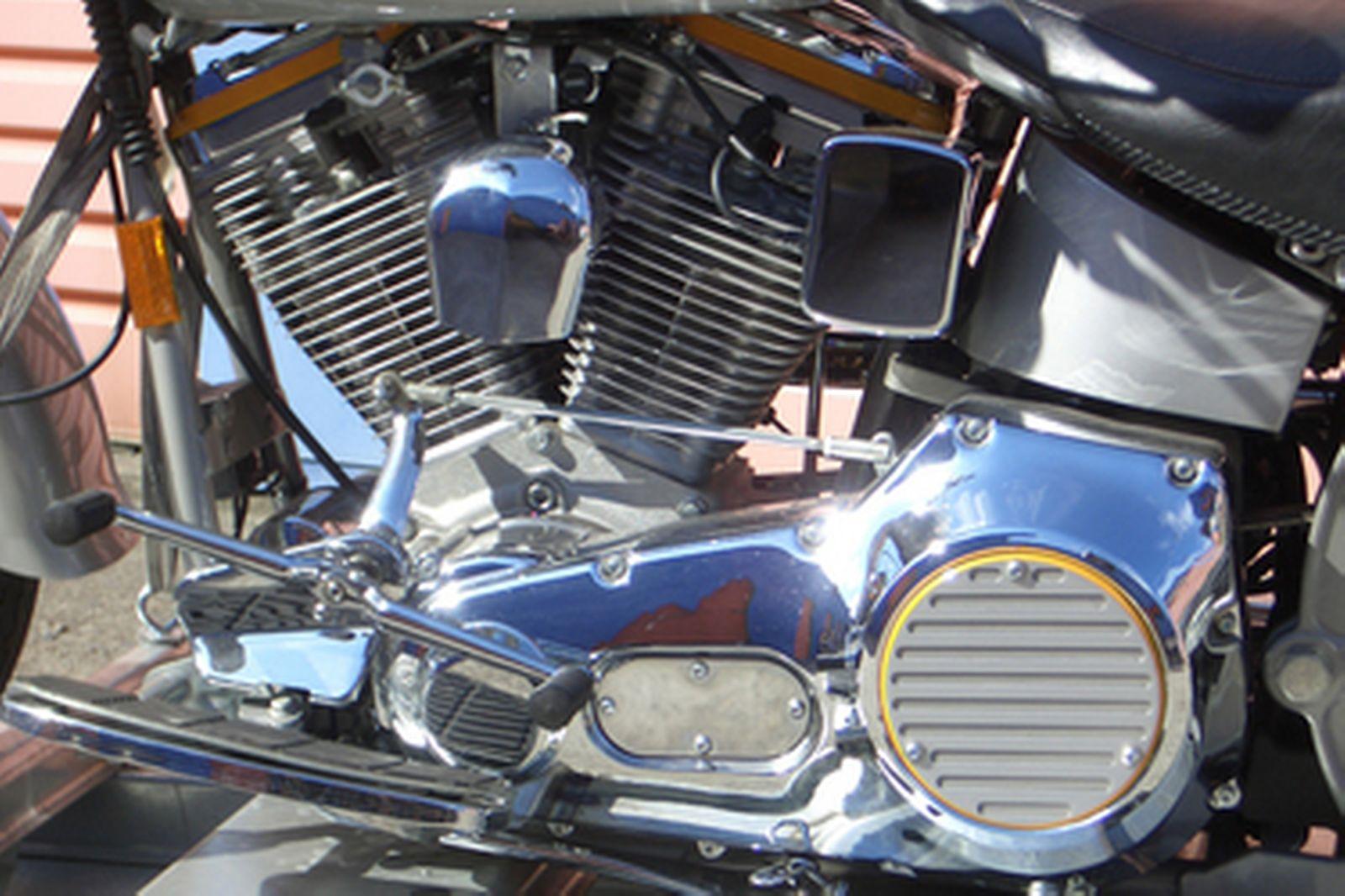 Harley-Davidson FLSTF Fat Boy Solo Motorcycle