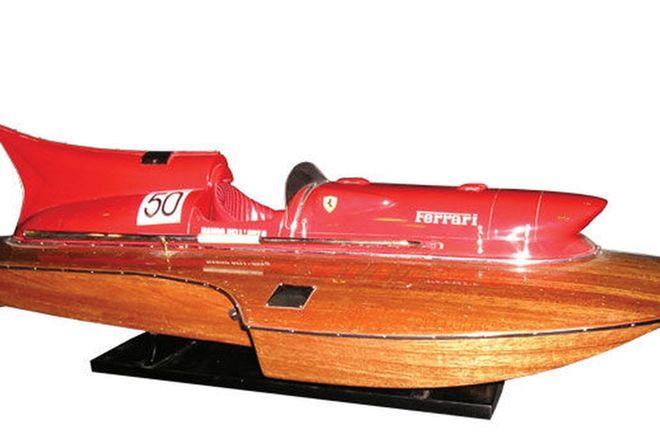 Model Boat 1:8 scale - Timossi Arno XI Ferrari Hyrdoplane (80cm long)