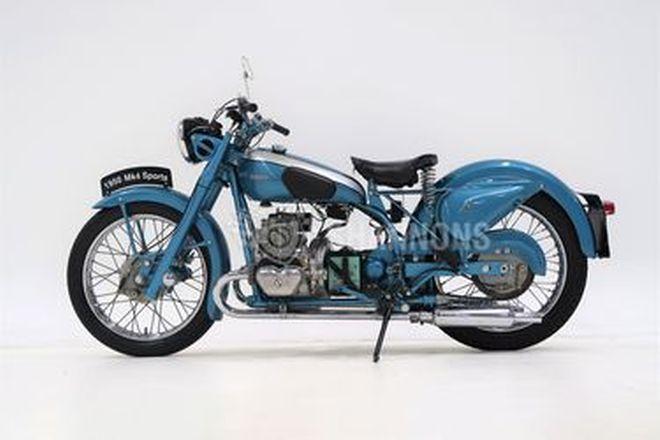 Douglas Mark 4 350cc Motorcycle