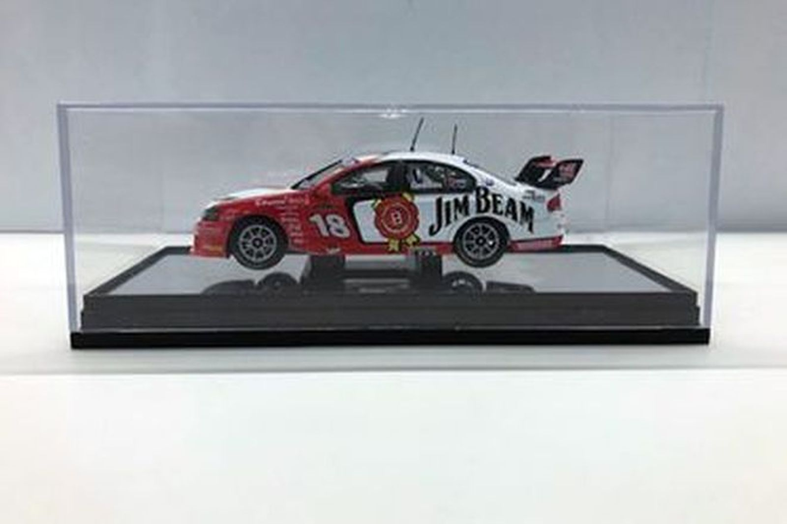 Model car - Model car - Davidson/ Johnson Jim Beam #18 Scale 1:43